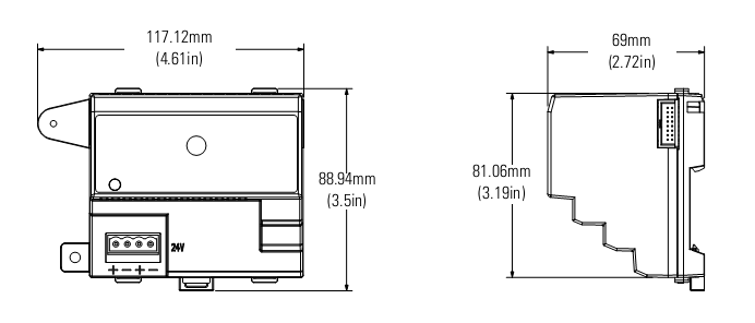 PLC Allen-Bradley FlexLogix I/O Modules 1794-OE12