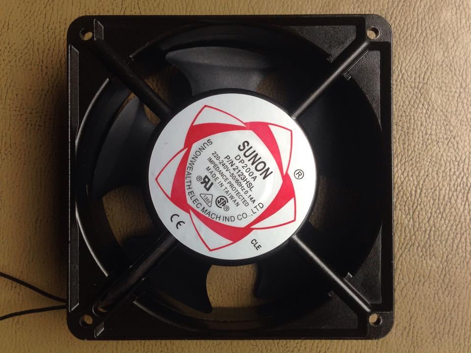 VietpowerTech -Quạt hút làm mát tủ điện DP200A – P/N2123HSL Sunon
