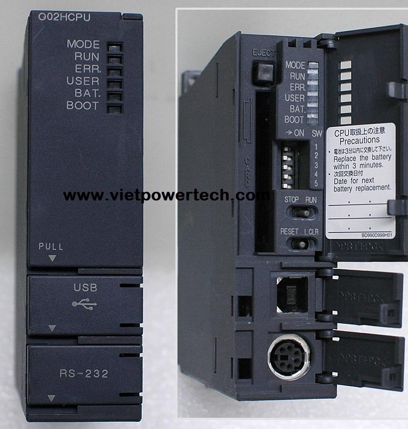 VietpowerTech -PLC Mitsubishi Q02HCPU